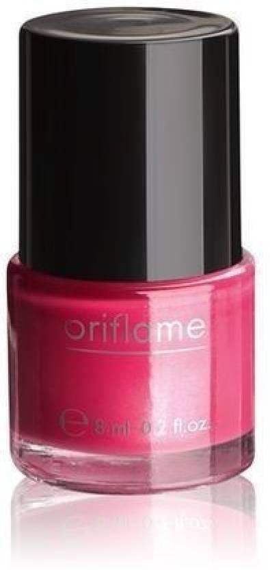 Oriflame Sweden Pure Colour Nail Polish Mini Intense Pink