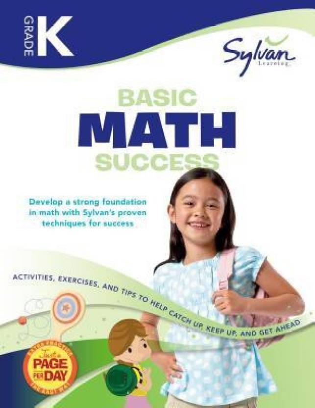 Kindergarten Basic Math Success Sylvan Workbooks Buy