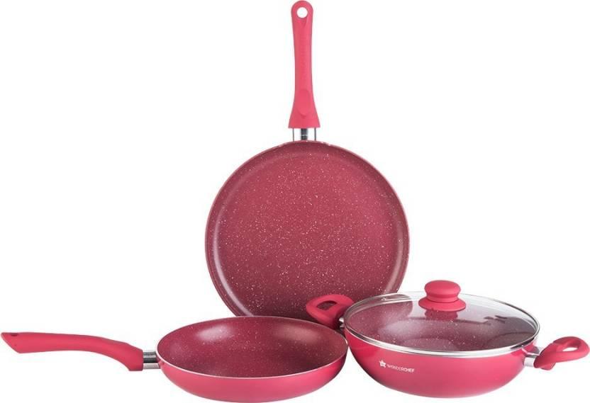 Wonderchef Romano Set Induction Bottom Cookware Set