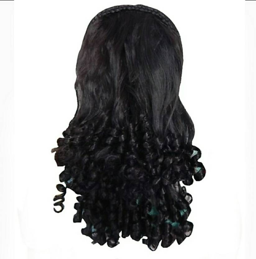 Royal Traders Natural Black 2 Sided Step Long Step Cut Pony Clutcher