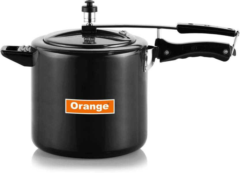 ae3fd13b446 Orange HARD ANODIZED INNER LID 3 lTR PRESSURE COOKER 3 Pressure Cooker (Hard  Anodized)