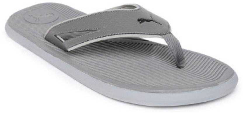 3f71e18c23183a Puma Puma Men s Grey Synthetic Casual Flip Flops Flip Flops - Buy ...