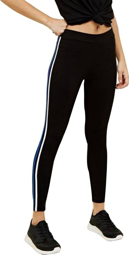 186f74c02753b Blinkin Solid Women Black, Blue Tights - Buy Blinkin Solid Women Black,  Blue Tights Online at Best Prices in India | Flipkart.com