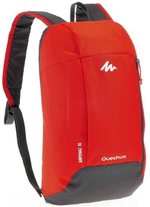 sale retailer ad13b 5a0eb QUECHUA BY DECATHLON Arpenaz 10 Ltr Mint Red Waterproof Backpack (Red 10 L)  Waterproof Backpack (Red, 10 L)