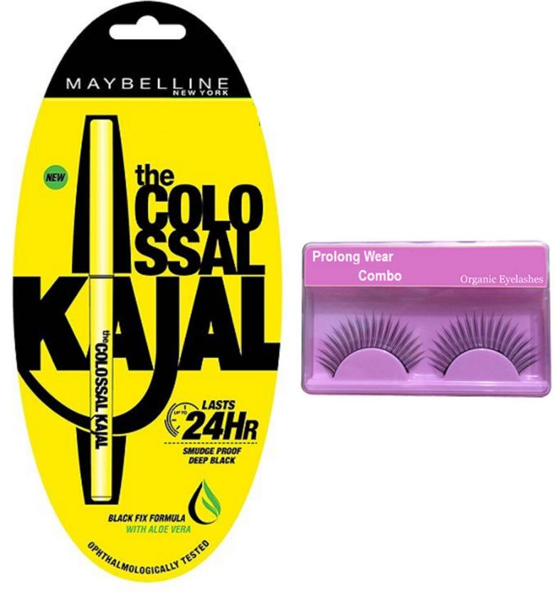New York Colossal Kajal + Pro Longwear Eyelashes Combo