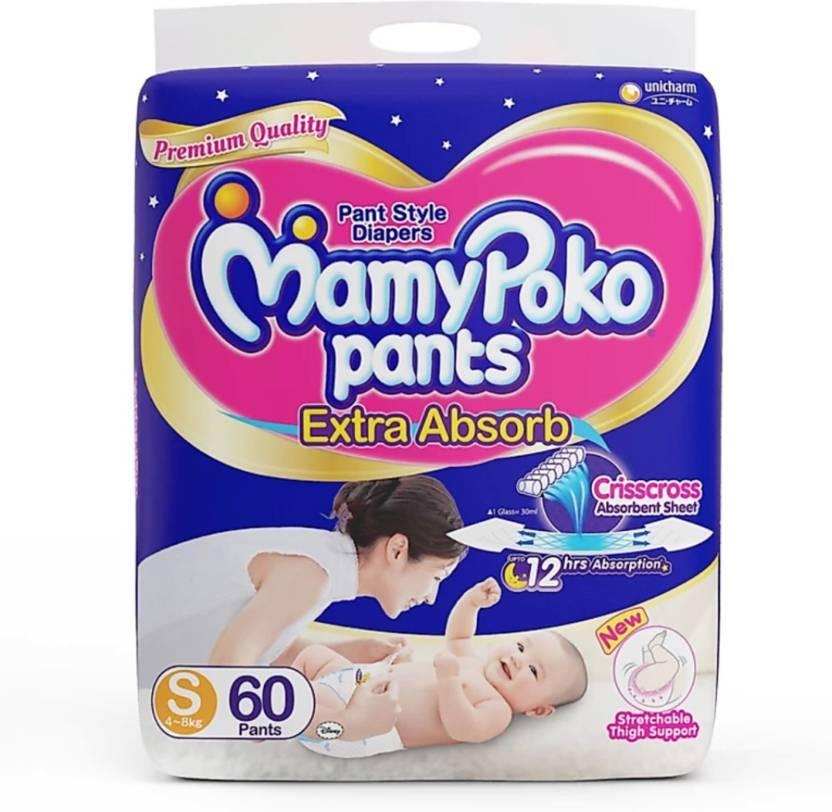 2d16b628ea1 MamyPoko Many Poko Pants - S - Buy 60 MamyPoko Pant Diapers ...