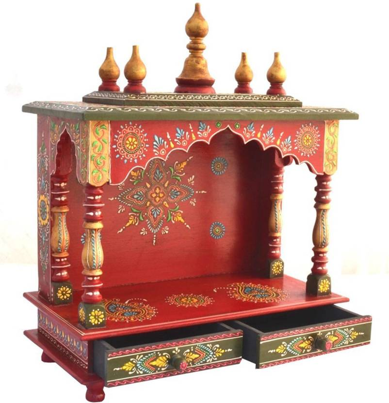 cbe32bf5e Marusthalee Temple for home Wooden Home Temple Price in India - Buy ...