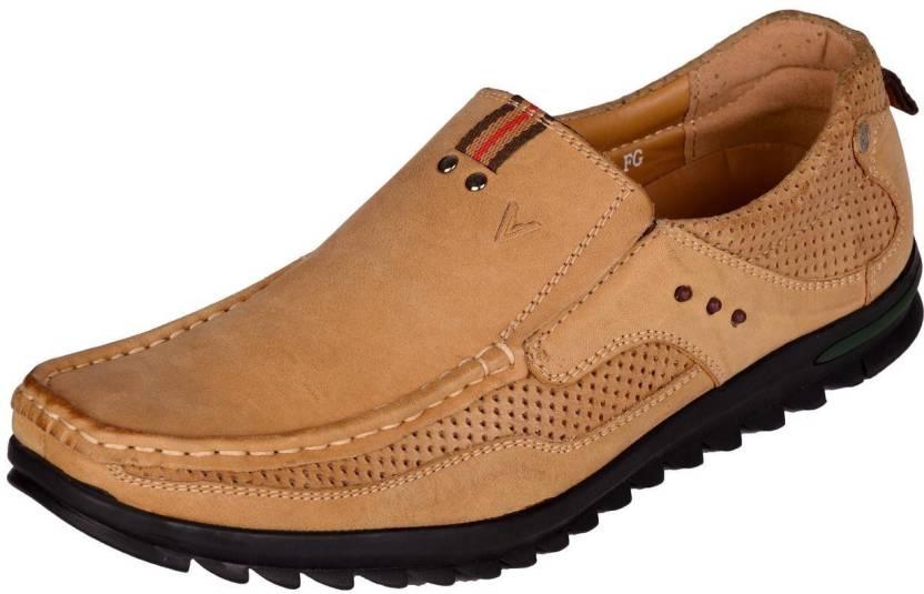 f9d3151c09799 Venturini Venturini Men's Genuine Leather Slip on Casual Shoes Light Brown,  Size-42 Casuals For Men (Brown)
