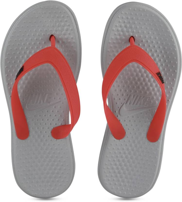 2e1dee443a6be2 Nike SOLAY THONG Flip Flops - Buy MATTE SILVER BLACK-MAX ORANGE Color Nike  SOLAY THONG Flip Flops Online at Best Price - Shop Online for Footwears in  India ...