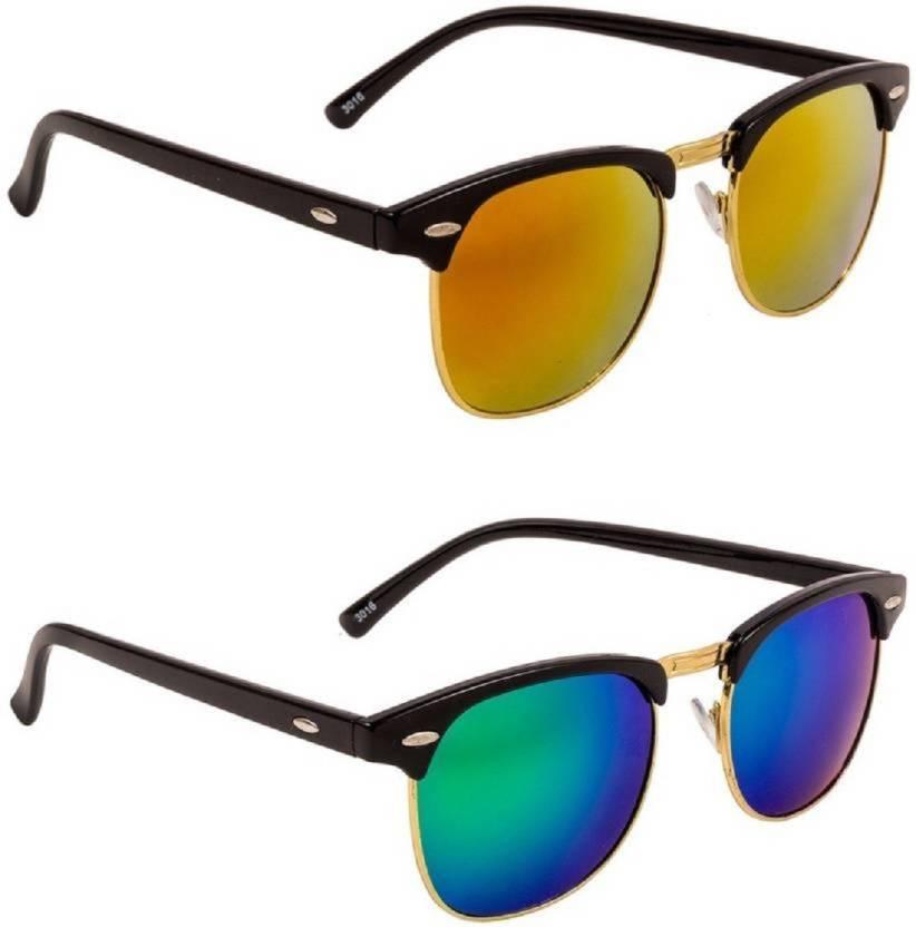 a268ebea1126e Buy Flynn Clubmaster Sunglasses Yellow