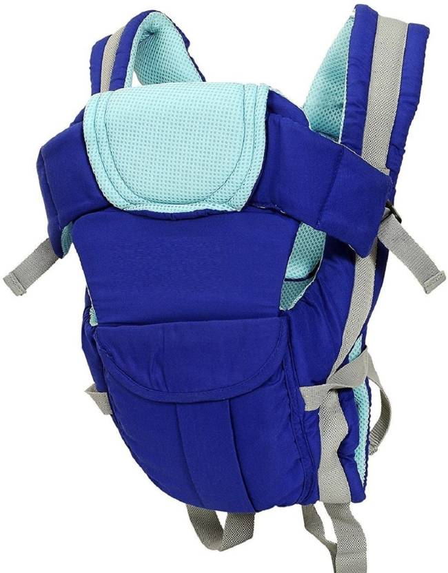 d7c05eee1a0 Aayat Kids Adjustable 4 Positions Baby Carrier 3D Backpack Infant Newborn  Pouch Bag Wrap Soft Structured Sling Front Back X11 Baby Carrier (Blue