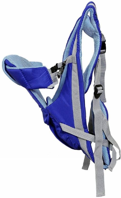 48890de8089 Aayat Kids Adjustable 4 Positions Baby Carrier 3D Backpack Infant Newborn  Pouch Bag Wrap Soft Structured Sling Front Back X12 Baby Carrier (Blue