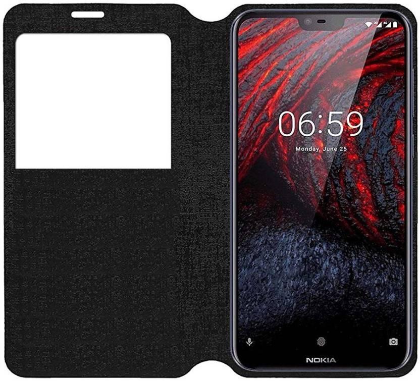 excellent quality 6402a fcba4 S-Gripline Flip Cover for Nokia 6.1 Plus (Smart S-View )