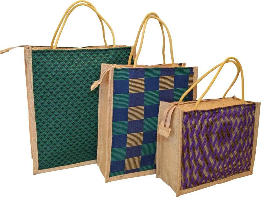 d870f705b Homekitchen99 Jute Bags-Combo of 3 Multipurpose Jute Bags