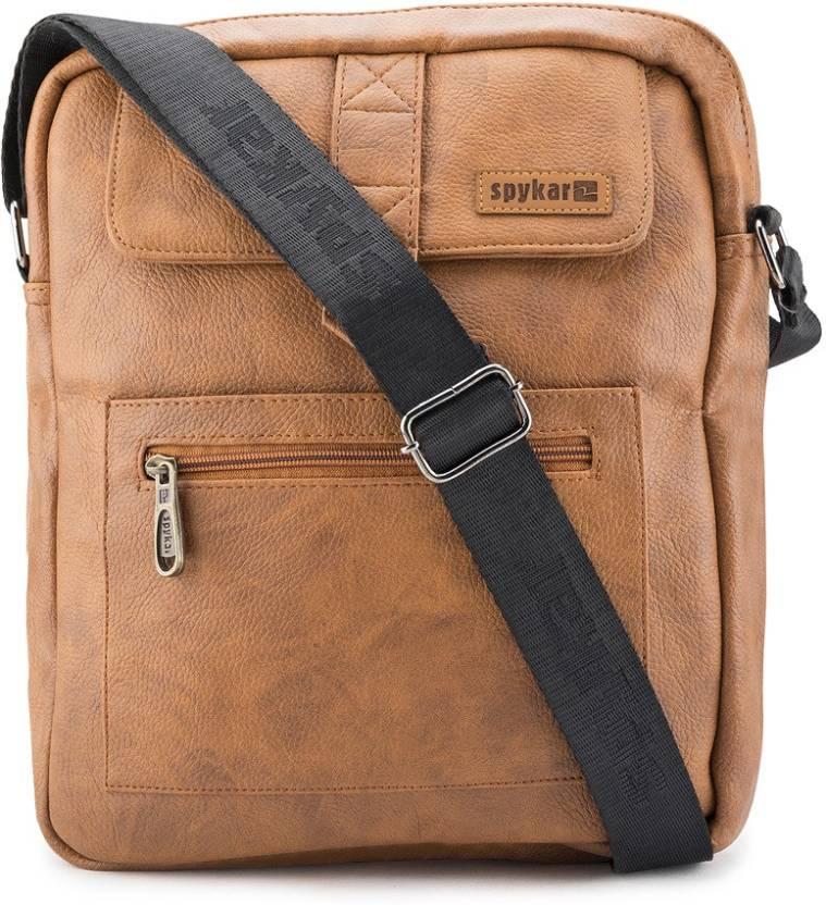 Buy Spykar Messenger Bag TAN Online   Best Price in India  cf750434aebb0