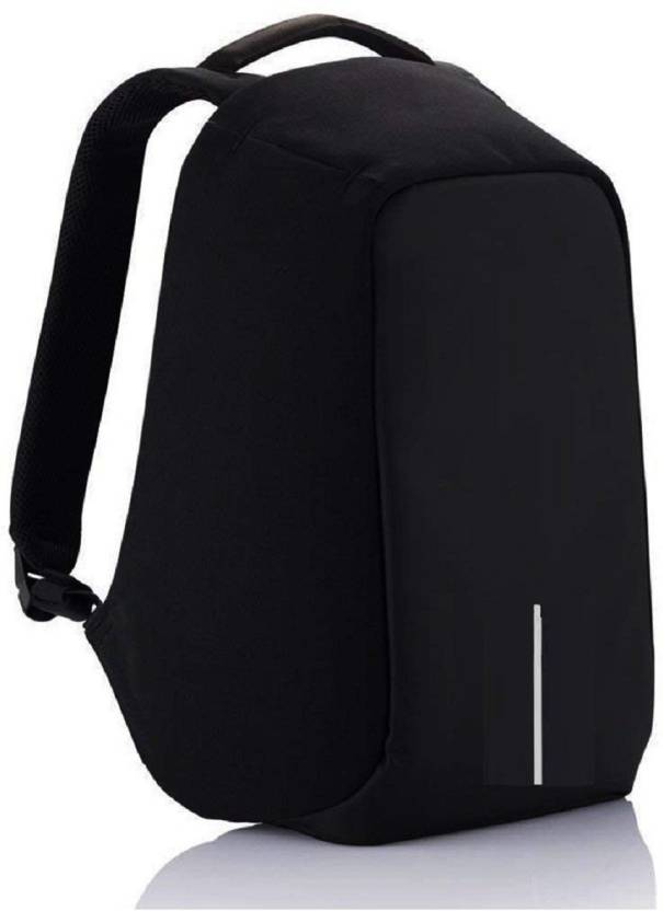 c79fcfaf679c Hi-MaK 15.6 inch Expandable Laptop Backpack black - Price in India ...