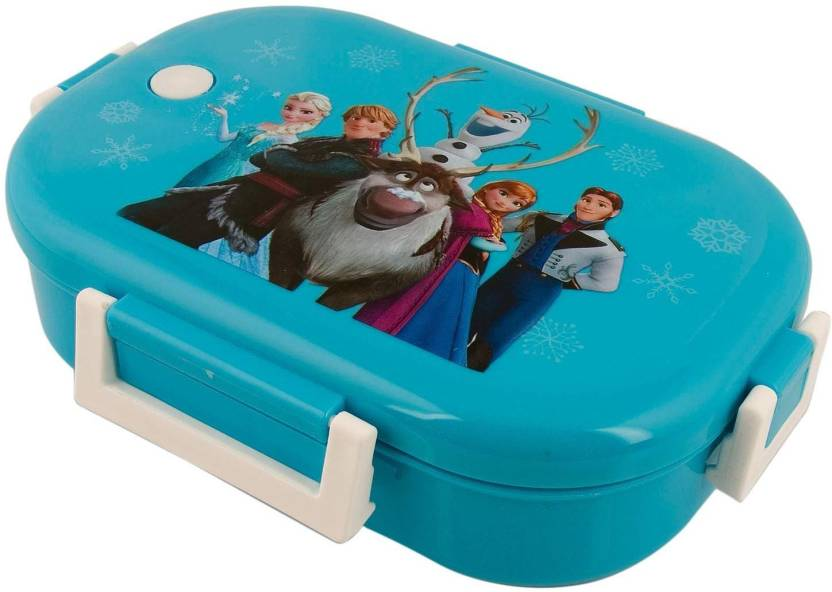 RVOLD Cartoon Printed Insulated Stainless Steel Kids Lunch Box Birthday Return Gift Frozen 3 Containers 500 Ml