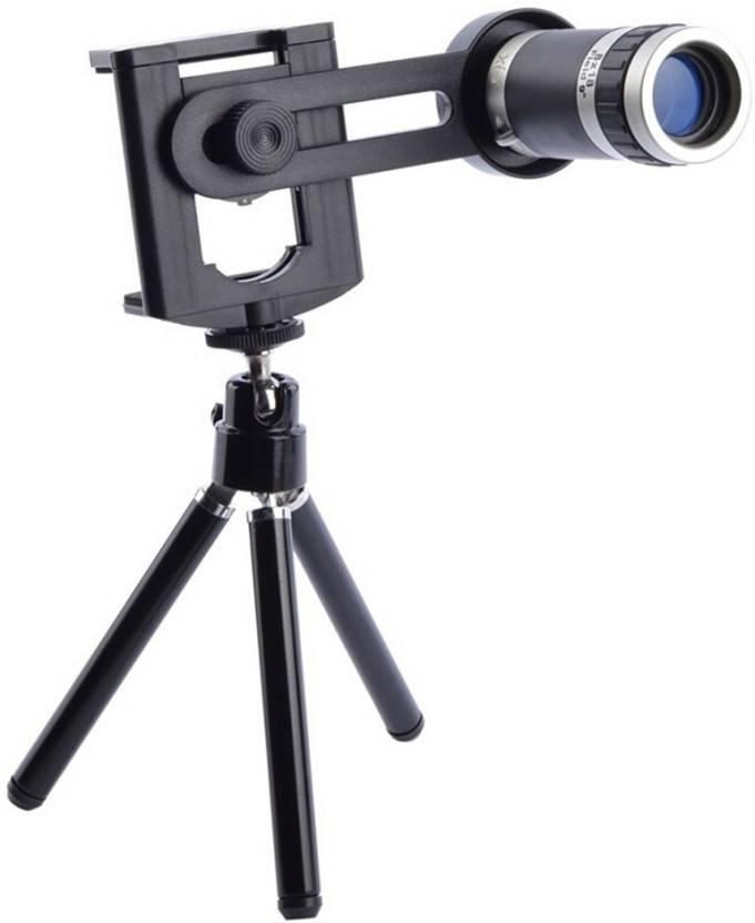 ff7972fefa5594 STK 8x Optical Zoom Kit With Universal Tripod Mobile Phone Lens (Telephoto)