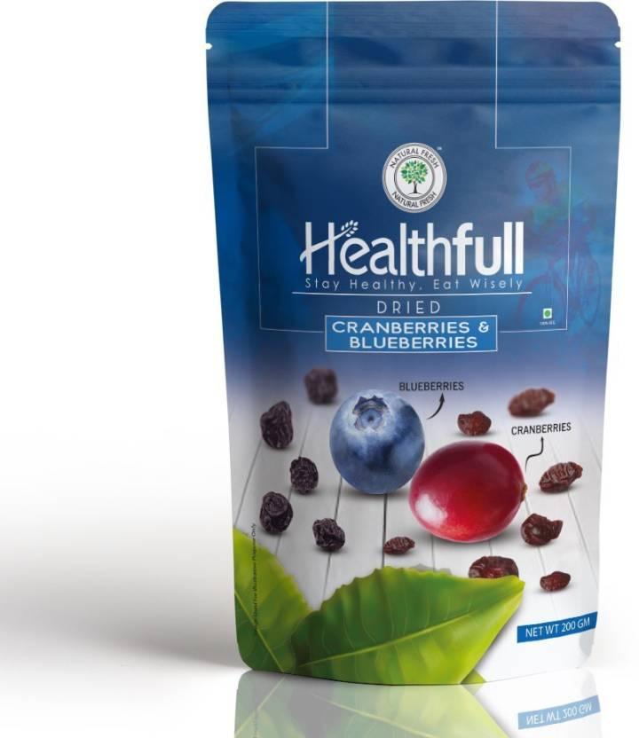 Healthfull Carnberries & Blue Berries, 200g  Cranberries, Blueberry