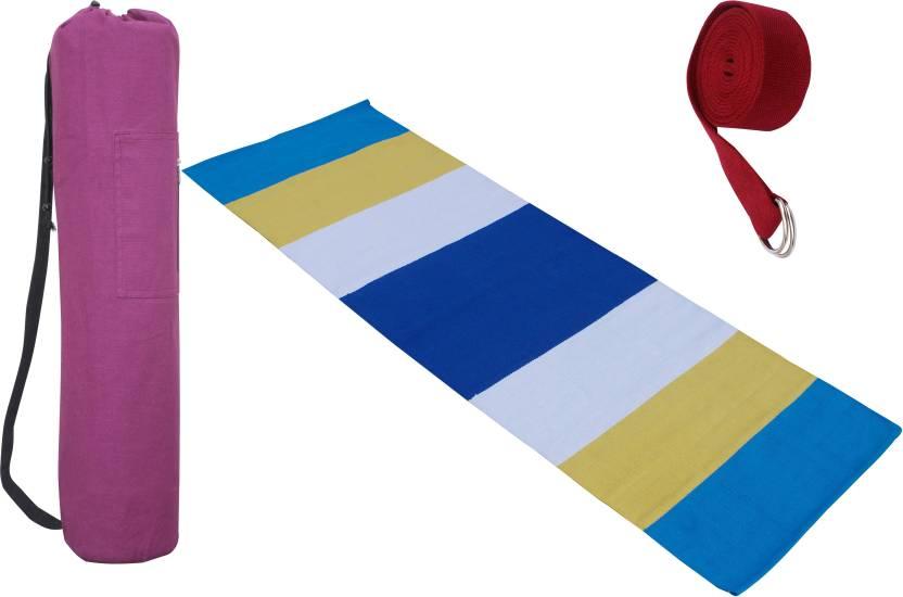 better price 2019 original better price for Ryan combo Yoga Mat , Mat Bag , Strap Yellow, Maroon, White ...
