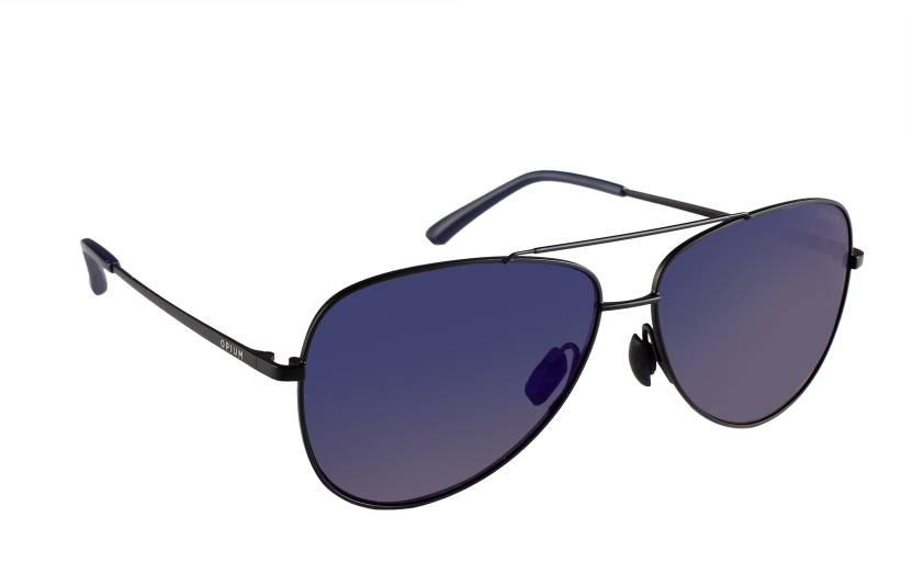 55db386af4 Buy Opium Aviator Sunglasses Blue, Violet For Men & Women Online ...
