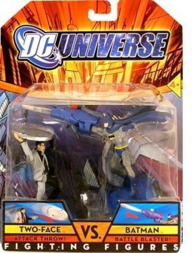 DC Comics Universe Fighting Figures Twoface Vs  Batman