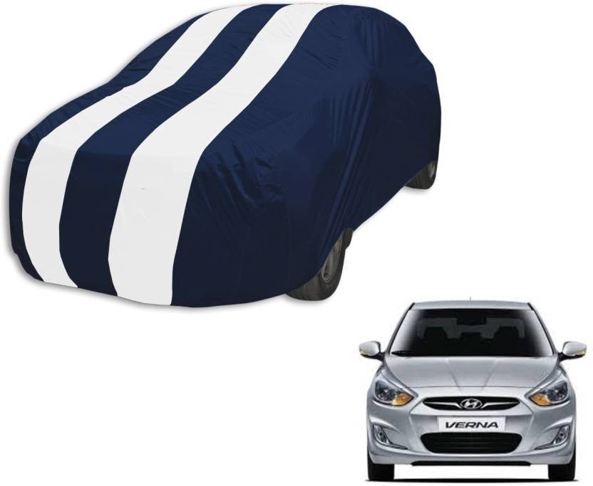 Autyle Car Cover For Hyundai Verna Without Mirror Pockets Price In