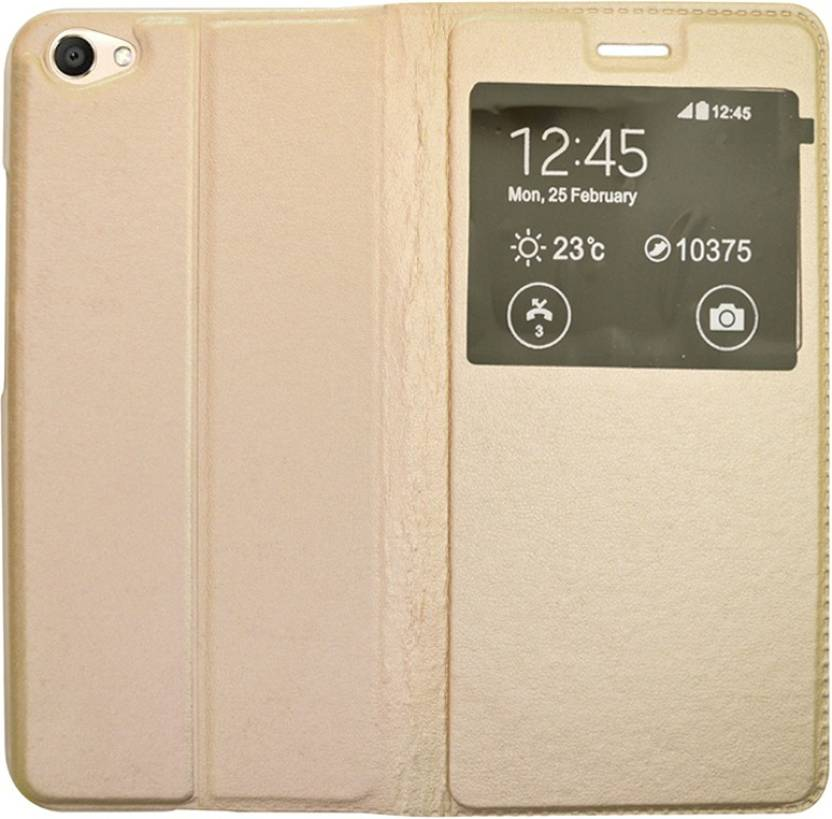 online store 66449 6cd1b Coverage Flip Cover for Vivo 1606