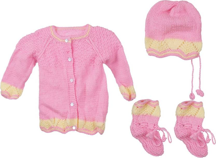 a3aed804c Aarushi Baby Boys   Baby Girls Casual Sweater Cap