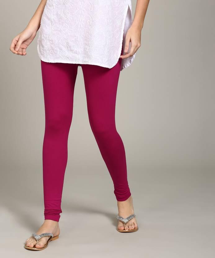 7b66e82dc43d6 Global Desi Women Pink Leggings - Buy Global Desi Women Pink ...