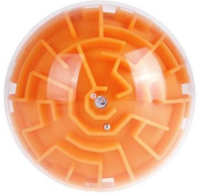 KINGSEVEN Mini 3D Maze Ball Puzzles Magic Toys Educational