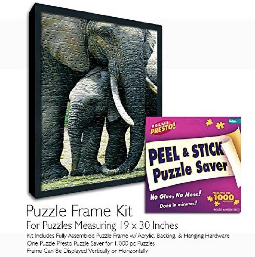 Buffalo Games Jigsaw Puzzle Frame Kit - Made To Display