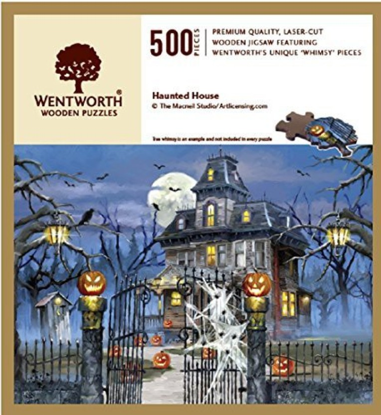 WENTWORTH WOODEN JIGSAW PUZZLE THE PUZZLE THAT RUINED CHRISTMAS  250 Pieces