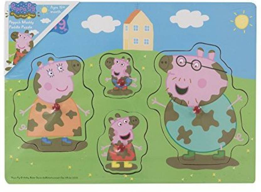 Genuine Peppa Peppa Pig My First Muddy Puzzle For Little Hands 18