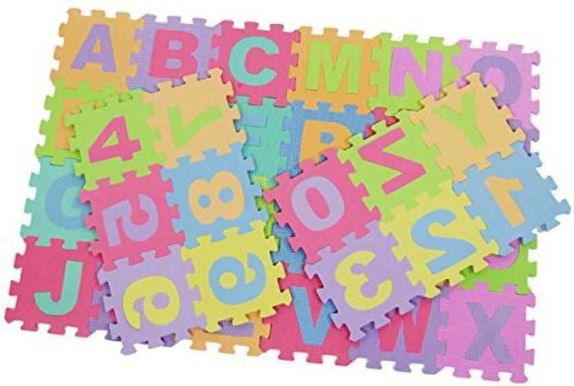 Barbie ~ Foam Floor Puzzle ~ 13 x 24 inch Play Mat 25 pc