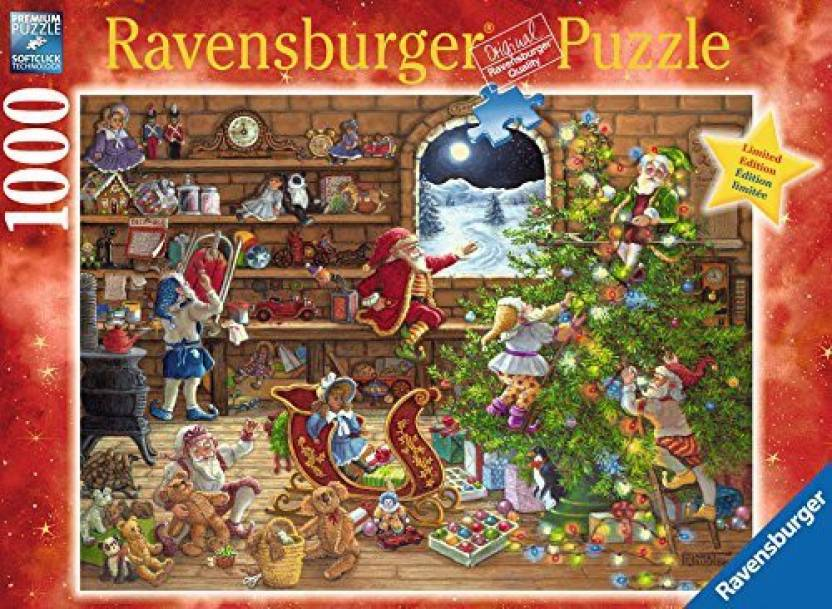 Until Christmas 70 Days Till Christmas.Ravensburger Countdown To Christmas 1000 Piece Limited