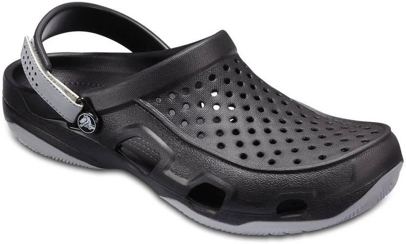 67fea0800 Crocs Men Black Sandals - Buy Crocs Men Black Sandals Online at Best ...