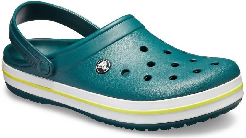 d36e156a6 Crocs Men Green Sandals - Buy Crocs Men Green Sandals Online at Best Price  - Shop Online for Footwears in India