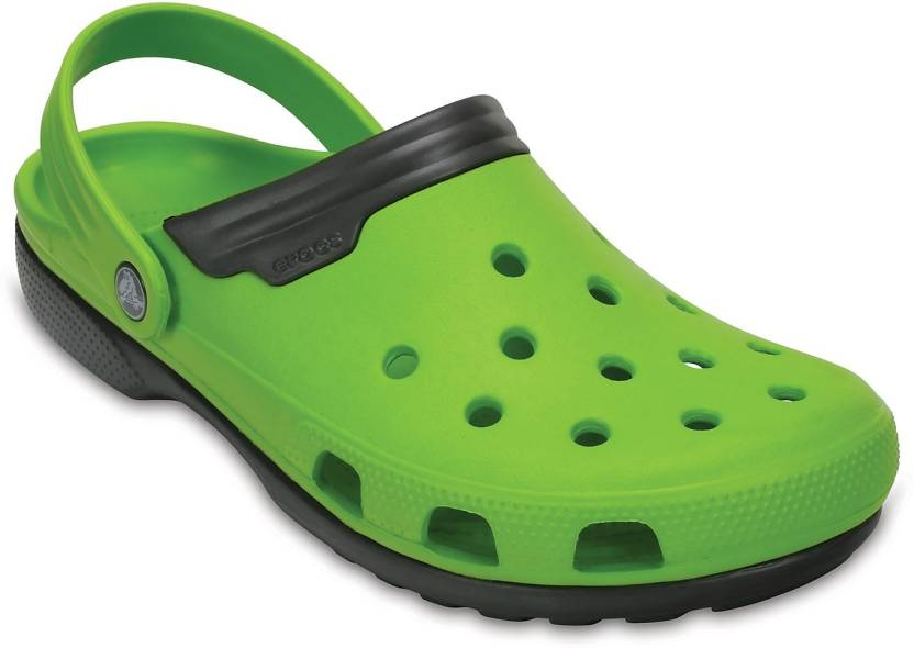 7f77f6c43 Crocs Men Green Clogs - Buy 11001-328 Color Crocs Men Green Clogs ...