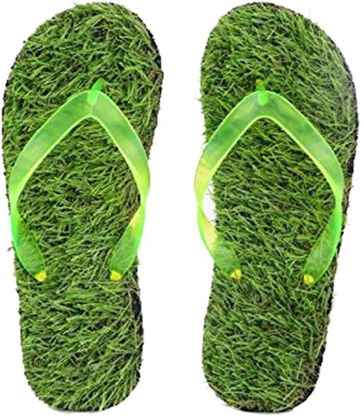 0a724d20eafa LDHSATI Comfortable House Walk Grass Flip Flops Slippers For Men - Green  Chappal 06LDHGC07 Slippers - Buy LDHSATI Comfortable House Walk Grass Flip  Flops ...
