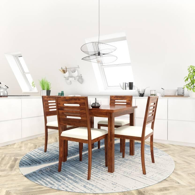 Phenomenal Flipkart Perfect Homes Purewood Sheesham 4 Seater Dining Set Home Interior And Landscaping Ologienasavecom