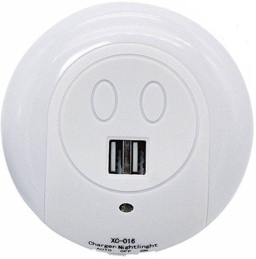 e9776f1c AGE CARE New Usb Plug-er For Charging With Led Sensor Night Light 8 A Two  Pin Socket Price in India - Buy AGE CARE New Usb Plug-er For Charging With  Led ...