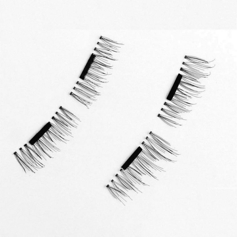 c3450c15275 CGT 3D Magnetic Eyelashes Reusable No Glue Needed Long False Eyelashes For  Women with Storage Case (Pack of 1)