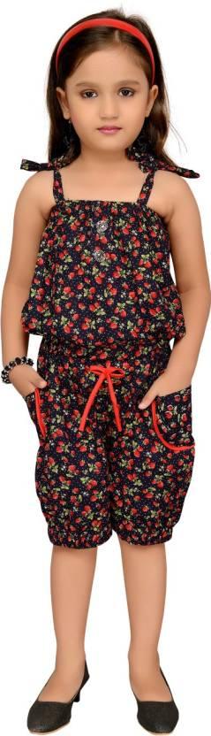 f96facf56511 Aarika Girls Party(Festive) Jumpsuit Jumpsuit Price in India - Buy ...