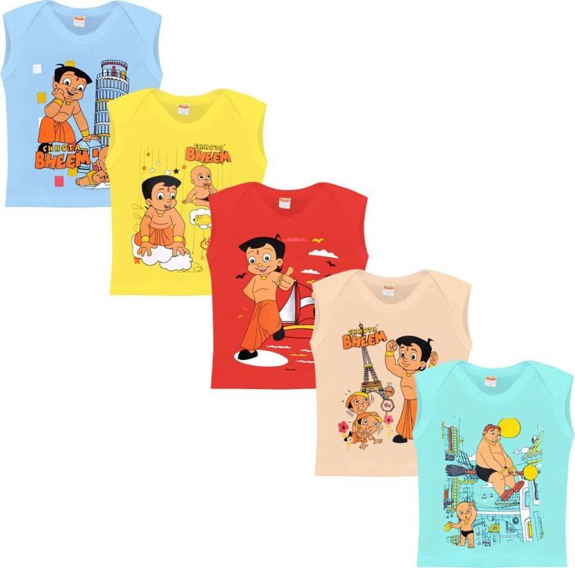 3d7b98df2 Chhota Bheem Boy's Printed Cotton T Shirt Price in India - Buy ...