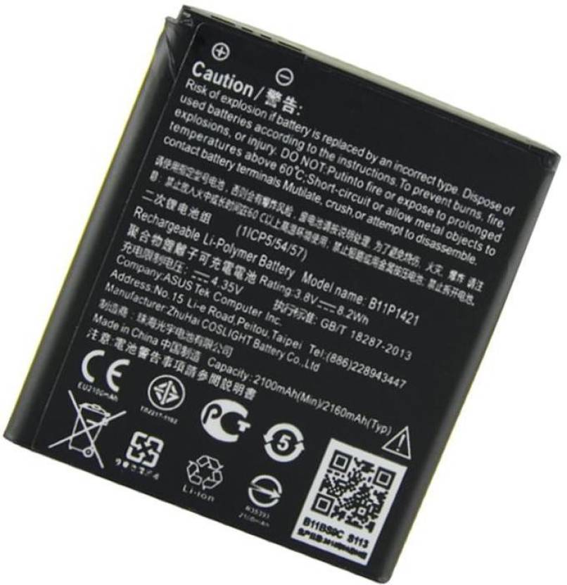 A Mobile Battery For Asus ZENFONE C ZC451CG B11P1421