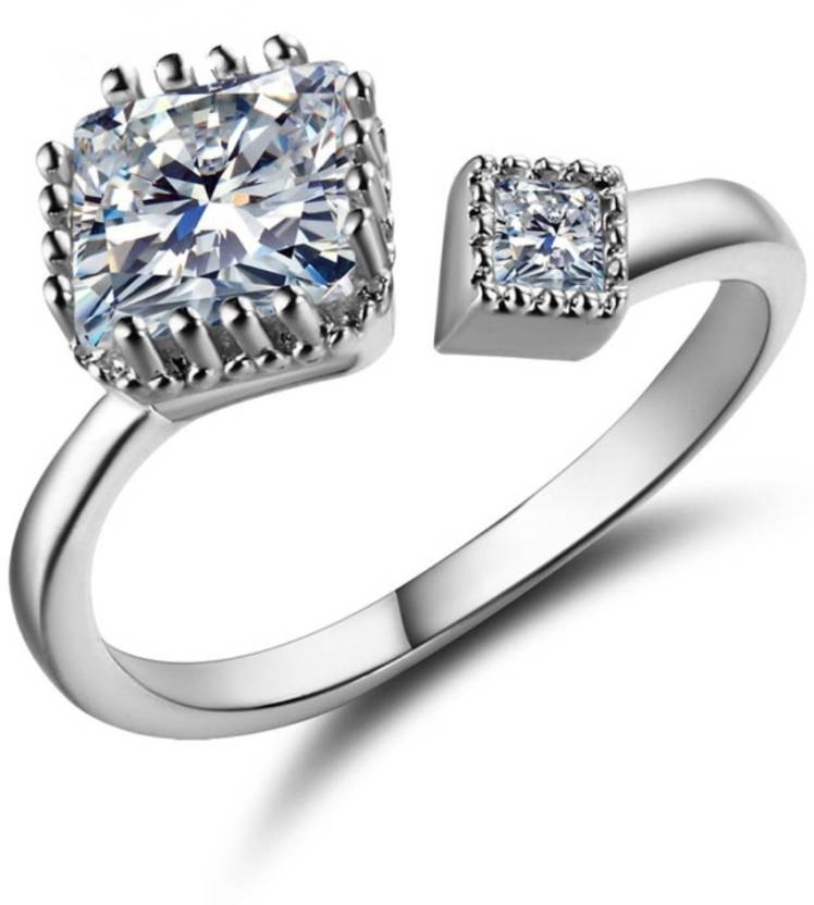 83f5dbb68bba8 DALUCI 925 Sterling Silver Ring For Girls AAA CZ Crystal Jewelry New ...