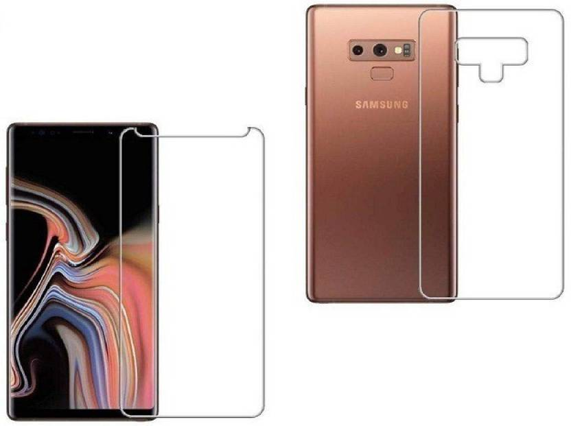 the best choice Tempered Glass Guard for SAMSUNG NOTE 9 FRONT AND