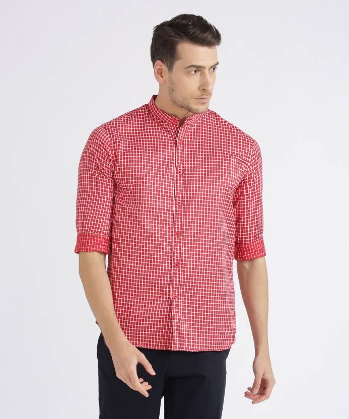 prodotti caldi nuovo aspetto ottimi prezzi Metronaut Men's Checkered Casual Red, White Shirt