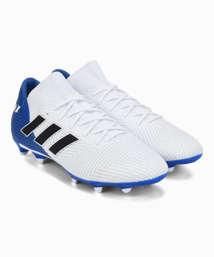super popular e6f62 f9a87 ADIDAS NEMEZIZ MESSI 18.3 FG Football Shoes For Men (White)